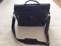 Vintage Visconti Messenger Leather Bag