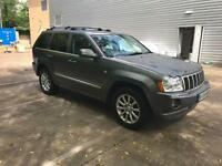 Jeep Grand Cherokee 3.0 CRD V6 Overland Station Wagon 4x4 5dr FULLY LOADED
