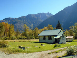 Fifteen Acres With A Good House in the Bella Coola Valley