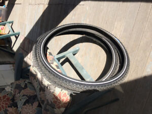 Winter Bicycle Tires - Like New!