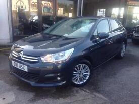 2011(11) Citroen C4 1.6HDi (90bhp) VTR+ *2 Keys, £20 Tax, 2 Owners,Up to 76 MPG*