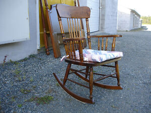 Solid Hardwood Rocking Chair