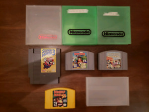 NES, N64 and Gamecube games for sale