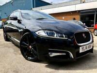 2014 Jaguar XF 2.2 D R-SPORT SPORTBRAKE 5DR AUTOMATIC Estate Diesel Automatic
