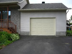 Porte de garage 7 x 10