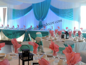 Wedding decorations kijiji in st catharines buy sell save wedding decoration event decor flower draping chair cover junglespirit Choice Image
