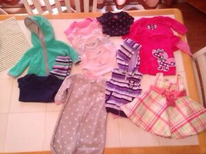 Girls 3 month items