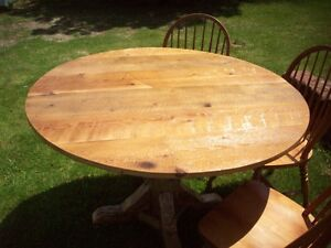 Reclaimed Round Dining Table
