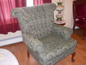 Wing Back Chair @ Kathy's Used Furniture