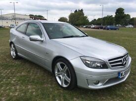 Mercedes clc160, sport, blue efficiency, auto, 40,130 miles, 2009, 1yr mot, stunning condition