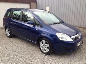 2009 Vauxhall Zafira 1.9 CDTi Exclusiv [120] 5dr Auto AUTOMATIC DIESEL 5 door...