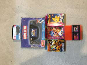 Console et lot de jeux Sega Game Gear