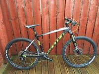 Gents hardtail mountain bike
