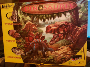 Heller Dinosaures craft French