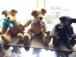 5  Handmade 'Darbyshire' Bears