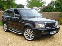 2008 58, Land Rover Range Rover Sport 3.6TD V8 Auto HSE + JAVA BLACK