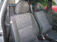 Peugeot 106 quicksilver seats bargain