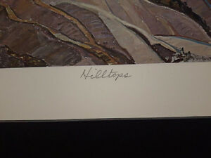 "Limited Edition ""Hilltops"" by Franklin Carmichael London Ontario image 5"