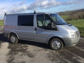 2010 Transit Crew Van - No VAT - 12 months MOT very clean and tidy