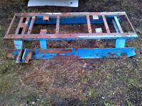 Heavy Duty Steel Skid