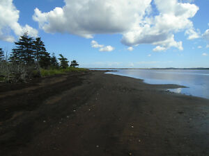Beautiful Waterfront land in Port Morien for Sale