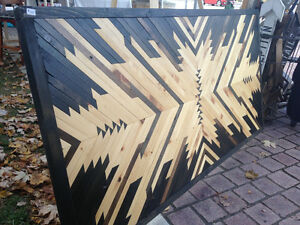 Wooden Wall Art/Coffee Table Top Kitchener / Waterloo Kitchener Area image 1