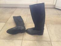 Woman's Aigle Lined Rain Boots