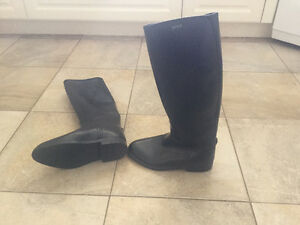 Woman's Aigle Lined Rain Boots