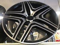"""22"""" alloy wheels Alloys Rims 5x130 Mercedes g wagon Porsche Cayenne Audi Q7"""