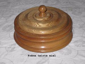 Vases décoratifs  en bois tourné