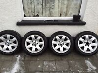 BMW ALLOY WHEELS SIZE 205/55R16 16 INCH EXCELLENT CONDITION ALL 4 £120 ONO
