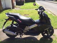 125cc 4stroke Derbi GP1 moped