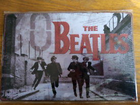 Brand new The Beatles metal sign