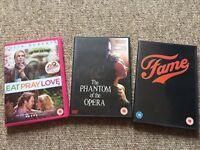DVD selection, £2 each