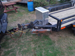 Heavy Duty Platform Trailer