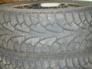 Hankook Winter I Pike Tires and Rims