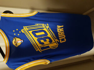 Steph Curry gsw golden State warriors men's jerseys size large