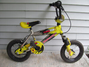 Mongoose childs bike with 12 1/2 inch wheels,$32