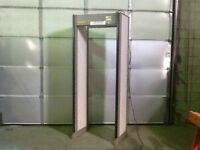 REDUCED PRICE-METAL DETECTION SECURITY GATE SYSTEM