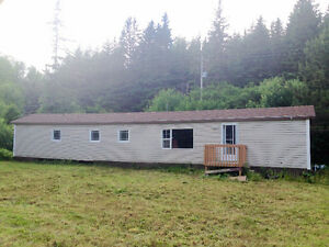 Mobile Home on 2.75acres in Dunvegan, Cape Breton