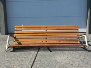 Patio Swing Bench to Give Away