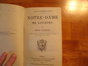 Antique book en francais (145 years old!) Bargain price