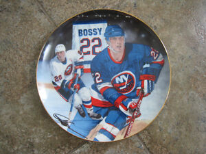 Collector Plate – 22 Mike Bossy, Signature Edition