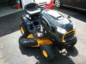 NEW Poulan PRO 42 in Deck 19 HP Automatic Riding Lawnmower Mower