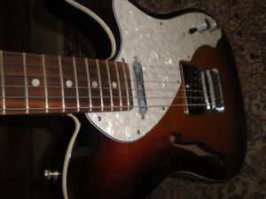 MADE IN MEXICO FENDER DELUXE TELECASTER THIN LINE BRANDNEW $1100