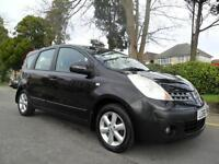 NISSAN NOTE 1.4 16v SE 2006 COMPLETE WITH M.O.T HPI CLEAR INC WARRANTY