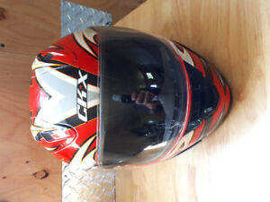 XL DOT approved CKX Full Face Shield Helmet