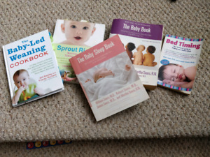 assorted baby books - non fiction