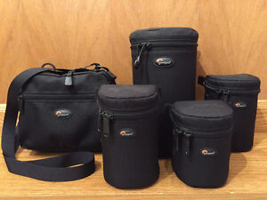 Lowepro Lens Cases and Pouch