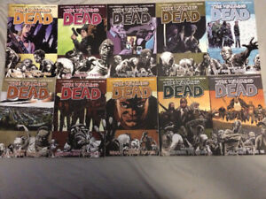 Walking Dead, Volumes 1-19 and Volume 21